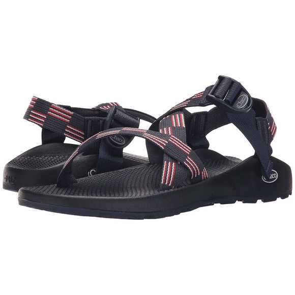 1cb89e3464d3 Chaco Shoes - Red White And Blue Chacos Size 7